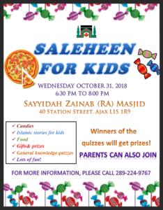 Saleheen for kids in ajax
