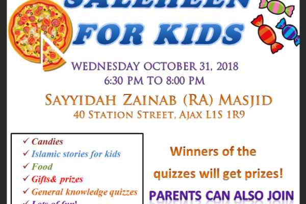 Saleheen for kids in ajax