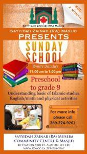 Muslim sunday Preschool in ajax