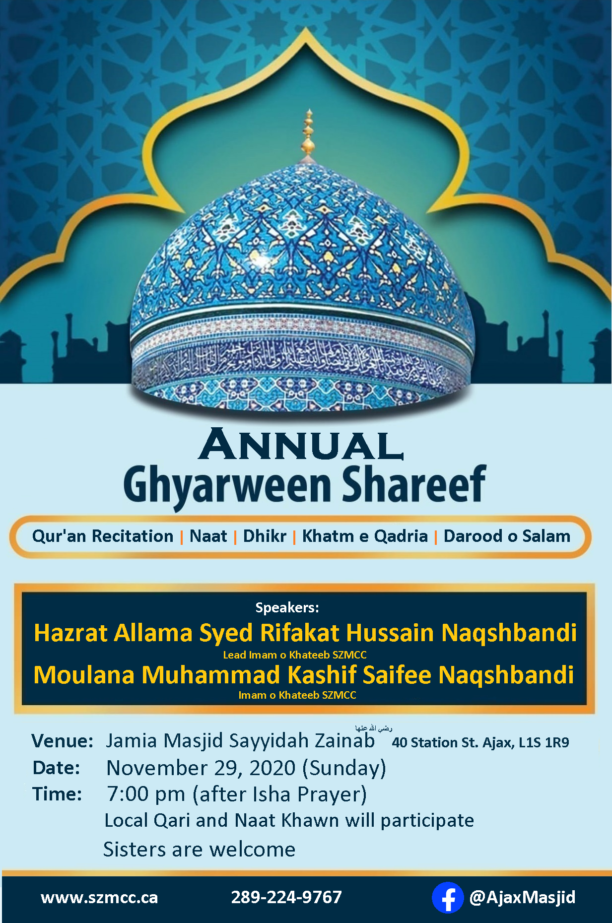 Annual Ghyarween Shareef