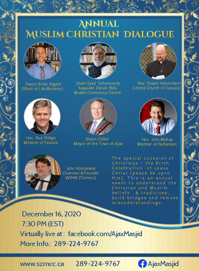 Annual Muslim Christian Dialogue