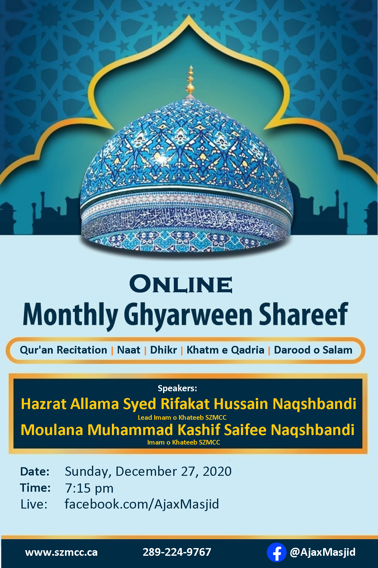 Online Monthly Ghyarween Shareef
