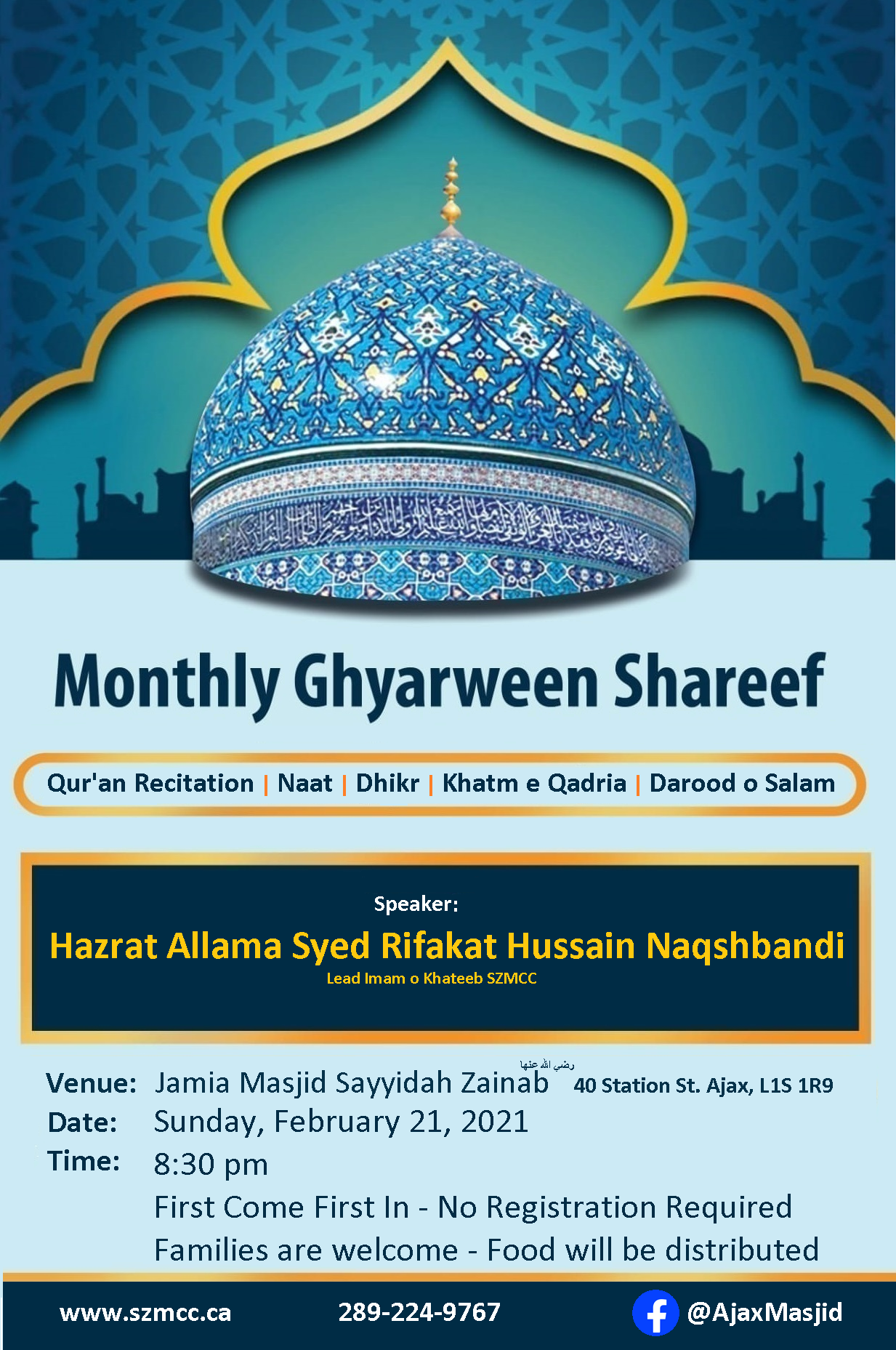 Monthly Ghyarween Shareef